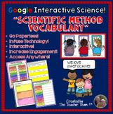 Google Drive Biology - Scientific Method Vocabulary for Google Classroom