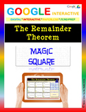 The Remainder Theorem - Google Interactive: Find the Magic Number
