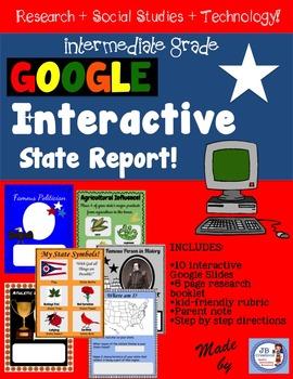 Google Interactive State Report for Intermediate Grades