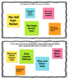 Google Jamboard Fall and Winter Writing Prompts Templates