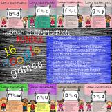 Google Letter Identification Game BUNDLE with PRINTABLES -