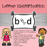 Google Letter Identification Games - Reversal b and d with printables