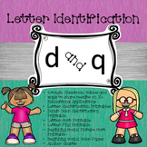 Google Letter Identification Games - Reversal of d and q w