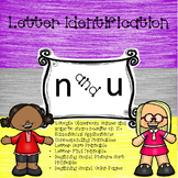 Google Letter Identification Games - Reversals n and u wit