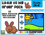 Google Littlest to Biggest Size and Order Math Pack