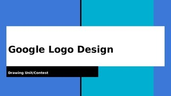 Google Logo Design Middle School Project PowerPoint Presentation