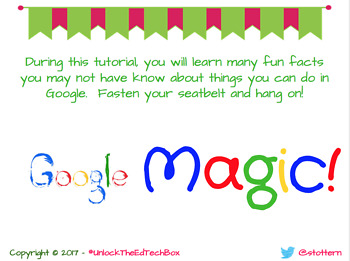 google magic tips for google chrome docs slides apps extensions