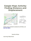 Google Maps Activity: Distinguishing between Distance and Displacement