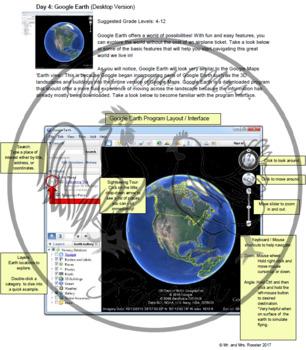 Google Maps Unit Lesson Plan Bundle - Technology Lessons