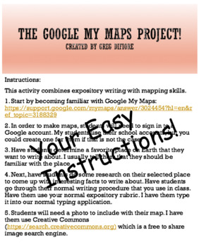 Google Maps Project