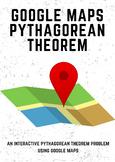Google Maps Pythagorean Theorem