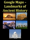 Google Maps Scavenger Hunt Ancient History Landmarks of the World