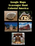 Google Maps Scavenger Hunt Colonial America