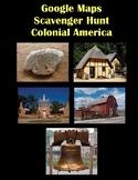 Google Maps Scavenger Hunt Colonial America Digital