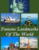 Google Maps Scavenger Hunt Famous Landmarks of the World Digital