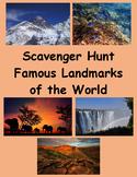 Google Maps Scavenger Hunt Natural Wonders of the World Digital