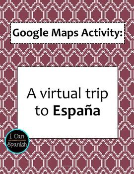 Google Maps Virtual Trip-España / Spain