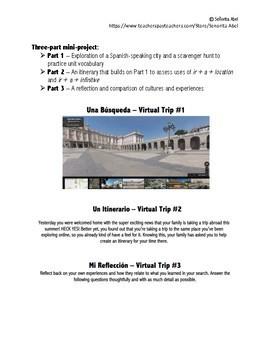 Google Maps Virtual Trip - IR Mini-Project