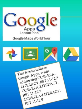 Google Maps World Tour-Common Core Standards Based