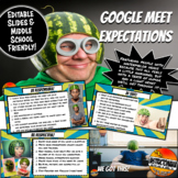 Google Meet Expectations Editable Google Slides By Instructomania