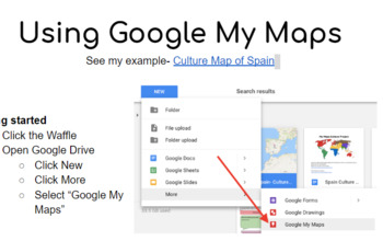Google My Maps Culture Project