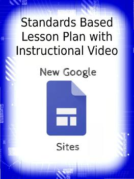Google's New Sites Website Creation Lesson Plan With Instructional Video