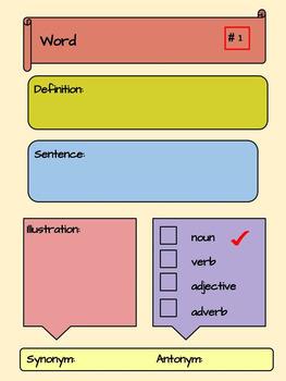 Google Novel Study Organizers Interactive Notebook