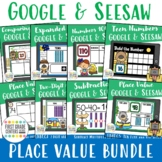 Place Value Google Slides Bundle for First Grade Base Ten