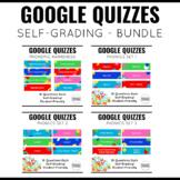Google Quiz Bundle for K-1 Literacy