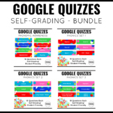 Google Quiz Bundle for K-1 Literacy