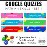 Google Quizzes for Math K-1