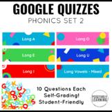 Google Quizzes for Phonics