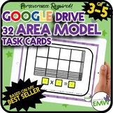 Google Ready Array Multiplication Task Cards Perseverance