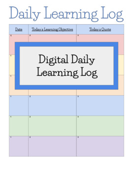 Google Ready Daily Learning Log