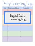 Google Ready Daily Learning Log