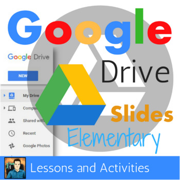 Google Slides Elementary Lesson & Activities UPDATED 2018
