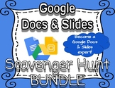 Google Scavenger Hunt & Digital Task Cards Bundle *VIDEO T