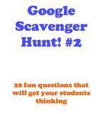 Google Scavenger Hunt- Part 2