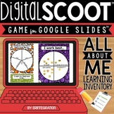 Digital Scoot for Google Slides - All About Me Learning Inventory