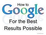 Google Seach Poster