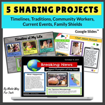 google sharing projects timelines traditions current events