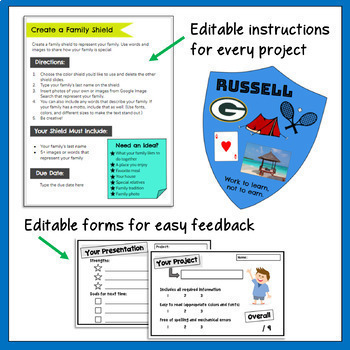 Timelines   Family Traditions   Current Events Templates   for Google  Classroom