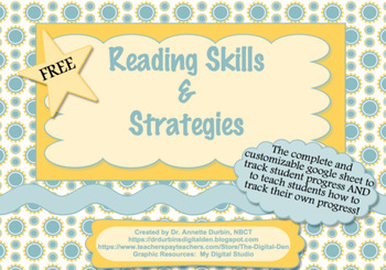 Google Sheet Reading Skills and Strategies
