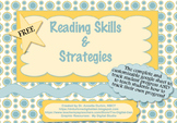 Google Sheet Reading Skills and Strategies