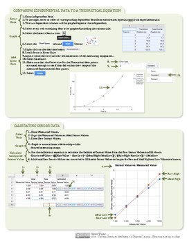 Google Sheets 8.5x11 Quick Reference for Science & Engineering