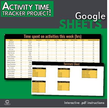 Google Sheets - Activity Time Tracker