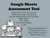 Google Sheets Assessment Tool