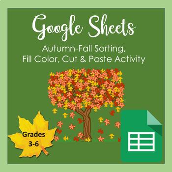 Google Sheets - Autumn/Fall Things