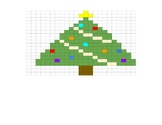 Google Sheets Christmas Fill In #1 - Christmas Tree