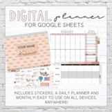 Google Sheets Digital School Planner